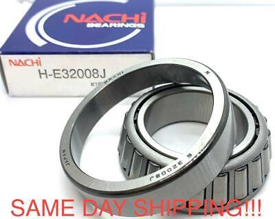 32008 J Nachi Tapered Roller Bearings Japan 40x68x19 Rolling Same Day Shipping