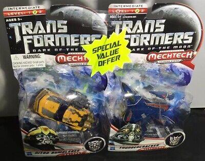 Transformers Dark Of The Moon Nitro Bumblebee Autobot Thundercracker Mechtech