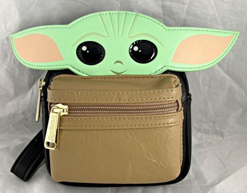 Disney Loungefly Star Wars Mandalorian The Child Baby Yoda Backpack Wristlet NEW
