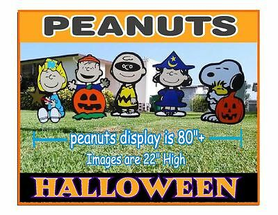 Halloween Peanuts Sally Charlie Brown Snoopy ,Linus, Lucy Decorations combo - Snoopy Halloween Decorations