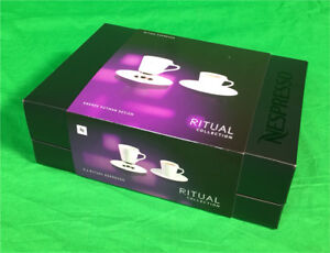 Nespresso RITUAL Collection cups & saucers - NEW