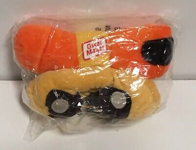 "Oscar Mayer Hot Dog Wiener Bean Bag Plush Toy Just Whistle 6.5"" New in Package"