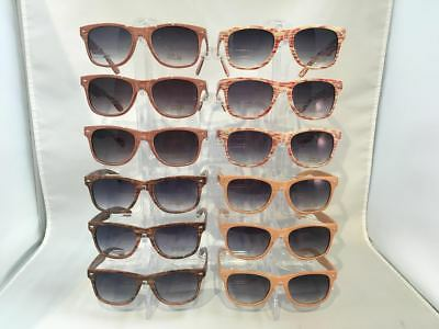 WY029 Retro Unisex Wood Pattern Sunglasses Wholesale 12 (Wood Sunglasses Wholesale)