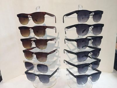 WY012 Club Master Style Men's Sunglasses Wholesale 12 pair