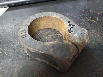 Vintage Drill Press Support Collar Stop 2 12 Dia Heavy Cast Iron No Cracks