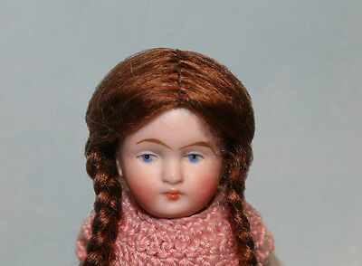 Penny Blonde or Light Brown Mohair doll wig size 4 1/2