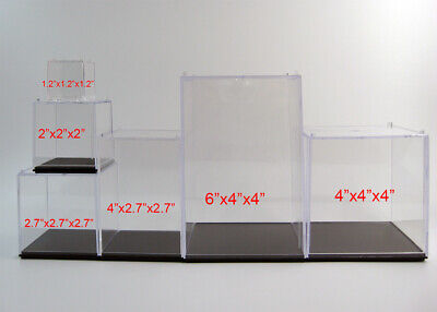 22.746 Clear Acrylic Display Show Case Figure Display Dustproof Box