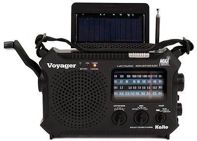 Katio Ka500l Am Fm Shortwave Dynamo Solar Crank Emergency Weather Radio Black