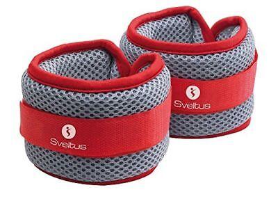 Sveltus Gewichtsmanschetten PAAR - Hand- und Fuß-Gewichte Aqua Band