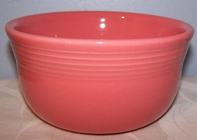 NEW FIESTAWARE RETIRED FLAMINGO PINK GUSTO BOWL FIESTA