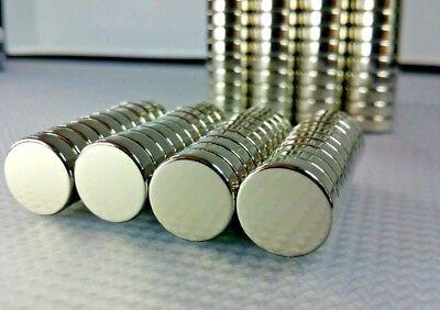 10 Large Neodymium High Heat Magnets. Super Strong Rare Earth N38sh