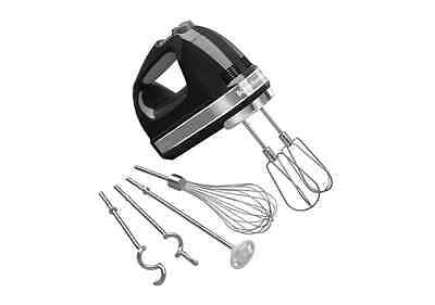 KitchenAid 9 Speed Pro Electric Digital Hand Held Mixer Beater Accessories Whisk