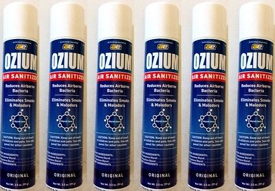 OZIUM SMOKE ODOR ELIMINATOR AIR SANITIZER FRESHENER ...