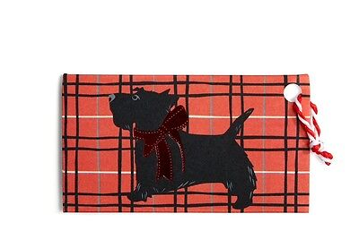 *NEW* Vera Bradley SCOTTIE DOGS Gift Tags - 2 Sets of 8 For Holiday  16 Total