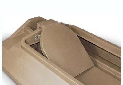 NEW Beavertail 401062 Final Attack Duck Hunting Boat Marsh Brown BackRest Duck Hunting Boat Blinds