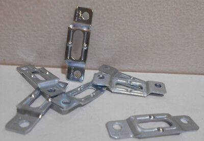Lot Of 200 Steel Clips For Trespa Siding 5556-hm