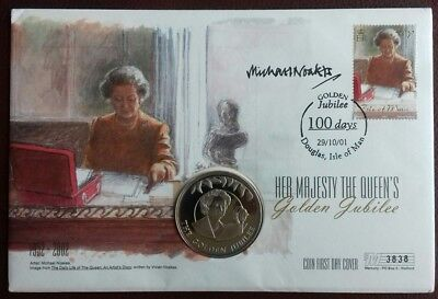 Michael Noakes signed Mercury Coin Cover.