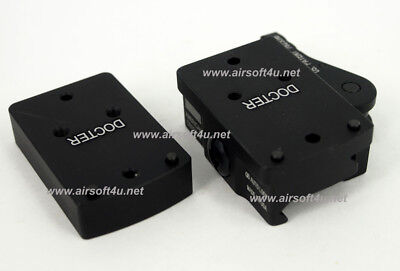 For Airsoft CNC Doctor Sight II QD Riser Mount Adapter