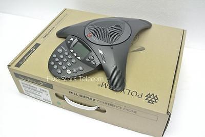 Polycom Soundstation 2 Conference Phone Non-expandable 2200-16000-001 - New