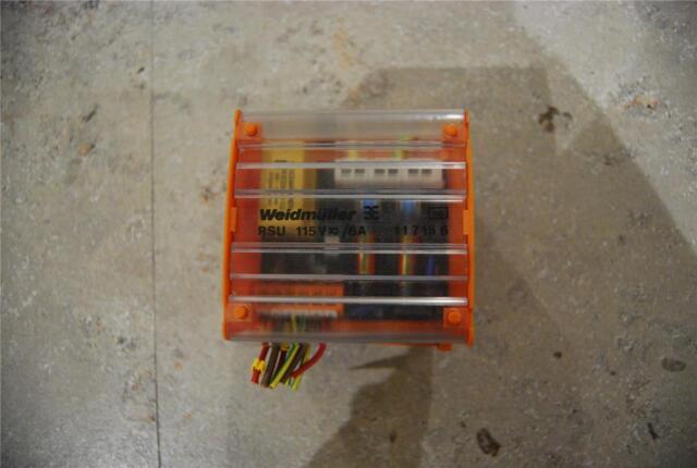 WEIDMULLER RSU 115V 6A  117156  STOCK#K1993