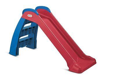 Children Plastic Slide Folds Playground Indoor Outdoor Backyard Toy Fun Kid Play Kids Indoor Playground