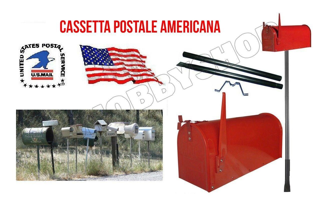 Cassetta per posta americana postale cassette postali topolino portalettere palo