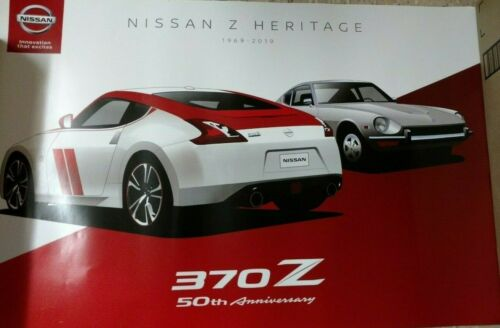 LIMITED EDITION NISSAN HERITAGE 50th ANNIVERSARY POSTER-370Z BRAND NEW