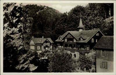 Bad Harzburg Niedersachen ~1940 Harz-Heim, Kaufmann Erholungsheim,