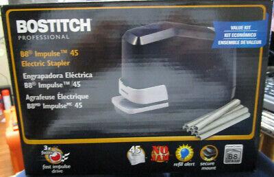 Bostitch B8 Impulse 45 Electric Stapler Black