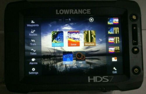 Lowrance HDS 7 Gen 2 Touch Fishfinder GPS Lowrance FREE SHIPPING!!
