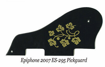 ES 295 ES-295 ES-175 P-90 Black & Gold Floral Pickguard for Epiphone Project NEW for sale  Shipping to Canada