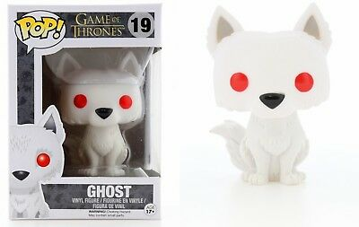 Ghost Game Of Thrones (Funko Pop Game of Thrones: Ghost Vinyl Figure Item #3876)