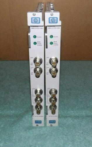 Two Hewlett Packard Agilent E1446A Summing Amplifier DAC VXI Modules #2