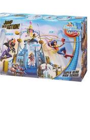 Dc comic super hero high school play set