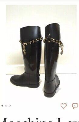 Moschino Love Rain Boots