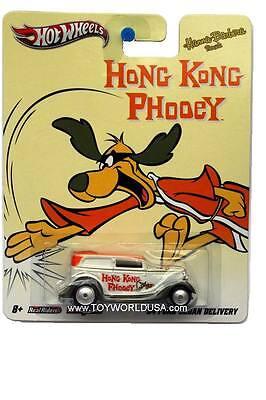 2012 Hot Wheels Hanna-barbera Hong Kong Phooey 1934 Ford Sedan Delivery