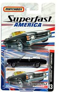 2006 Matchbox Superfast America #13 1971 Chevrolet Chevelle SS Convertible
