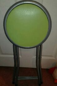 Green stool chair