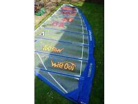 Windsurfing windsurf sail 7.8 freeride formula