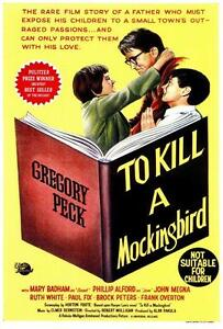 To Kill a Mockingbird 27x40 Movie Poster,Gregory Peck B