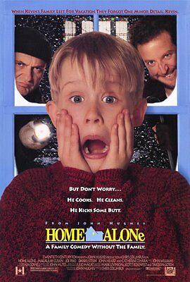 Home Alone Poster (HOME ALONE Movie Poster [Licensed-NEW-USA] 27x40