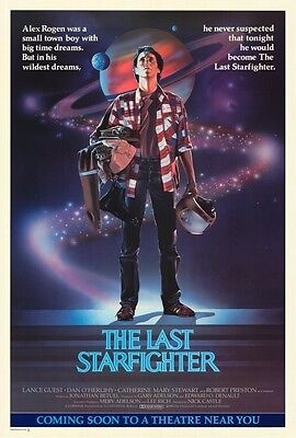 """THE LAST STARFIGHTER (1984) Movie Poster [Licensed-NEW-USA] 27x40"""" Theater Size"""