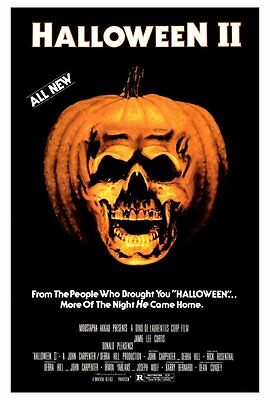 HALLOWEEN II (2) Movie Poster [Licensed-NEW-USA] 27x40