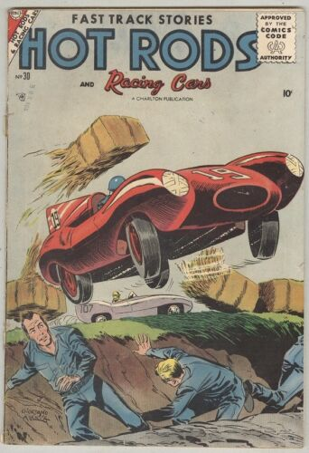 Hot Rods and Racing Cars #30 April 1957 VG