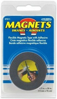 Master Magnetic 07011 Roll Of Flexible Magnetic Tape 12 X 30