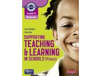 Level 3 supporting teaching and learning in schools book