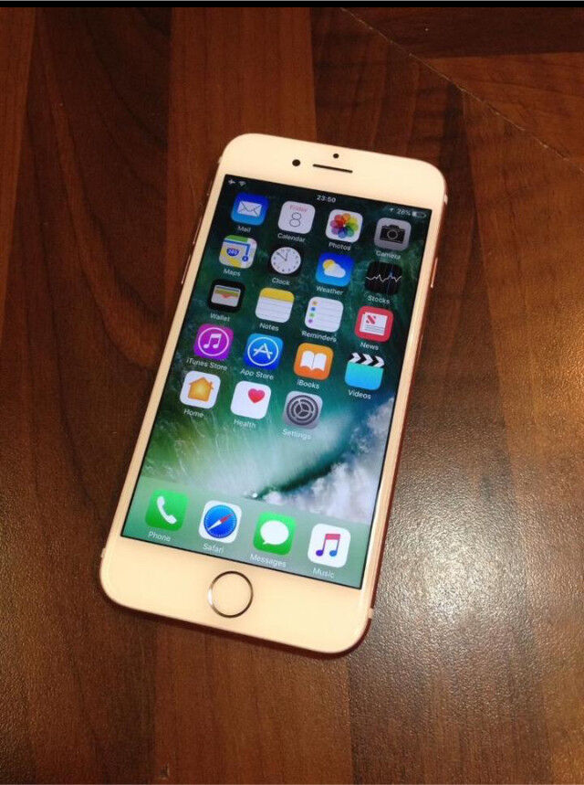 Apple iPhone 7 32gb rose gold Vodafone 9 months warranty sell/swap