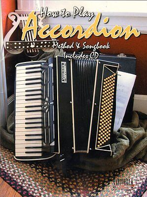 How to Play Accordion, Music Book & CD