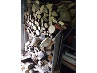 Logs for sale. Mainly hardwood dry stored seasoned logs.