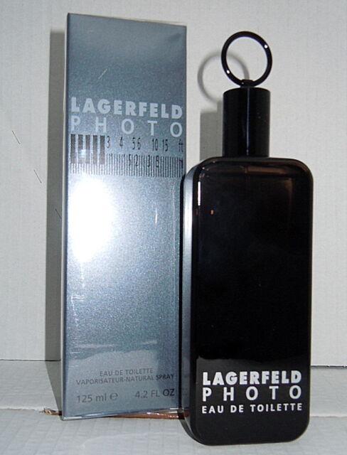 2 X LAGERFELD PHOTO 125ml EDT = 250ml Spray Eau de Toilette  NEU Folie  ANGEBOT